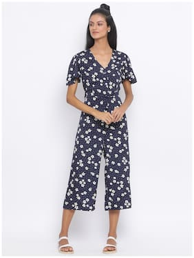 Women Floral Jumpsuit ,Pack Of Pack of 1