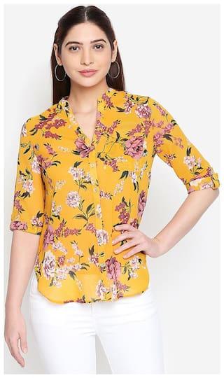OXOLLOXO Women Multi Printed Regular Fit Shirt