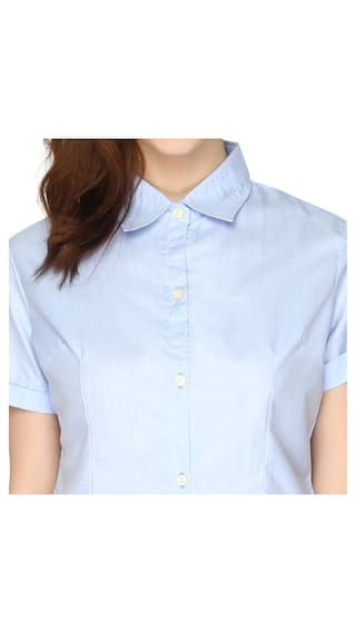 P Nut Casual Womens Top Solid qfq4v