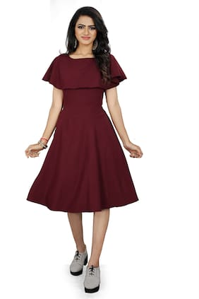 Women Solid Dress ,Pack Of 1