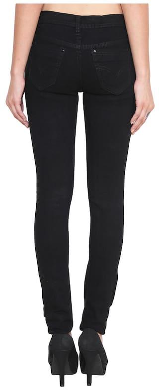 Black Streachable 2 Klick2Style Pack Fit Ladies Blue of amp; Slim Jeans q8wX4OX