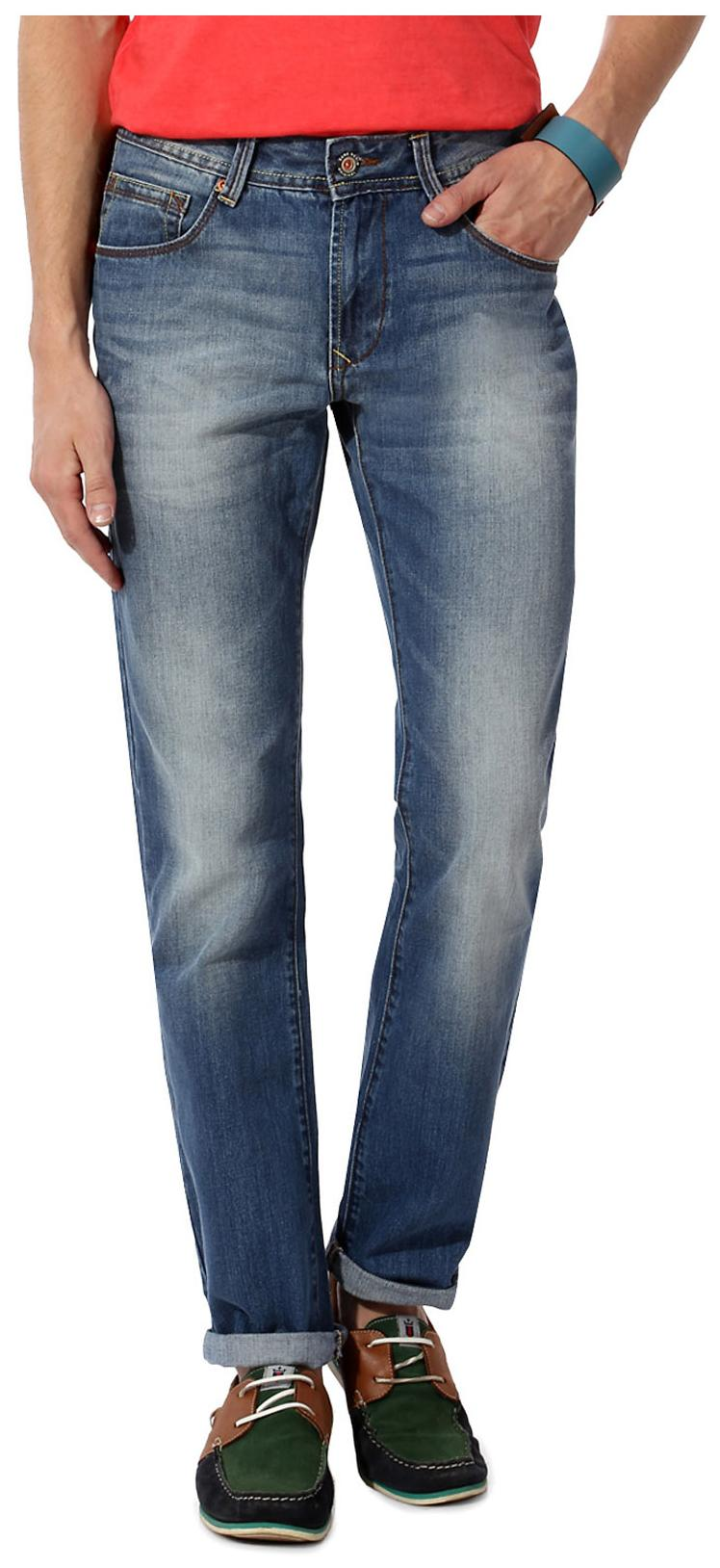 2b506d3aae Buy Bare Denim by Pantaloons Blue Cotton Jeans Online at Low Prices ...