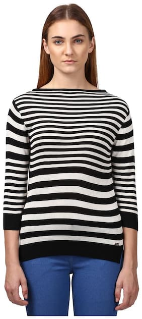 Women Striped Sweater ,Pack Of 1