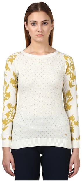 Women Printed Sweater