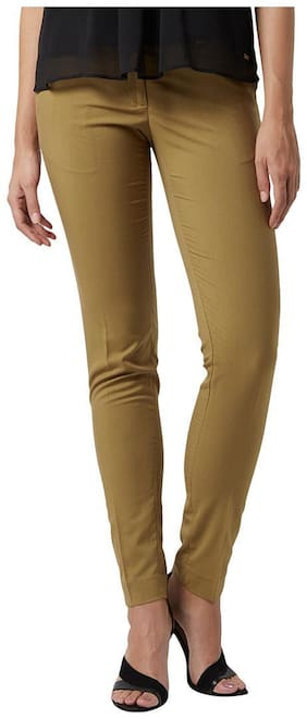 Women Solid Regular Trousers ,Pack Of 1