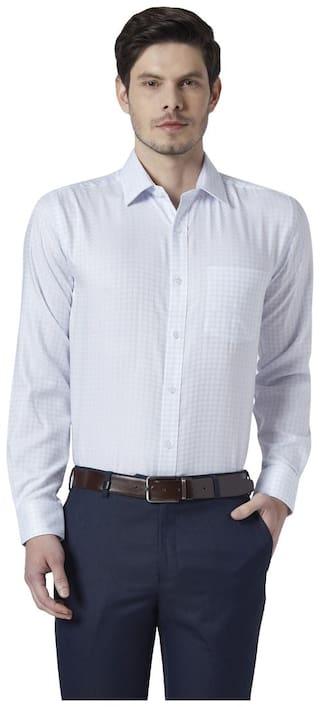Park Avenue Men Regular fit Formal Shirt - White