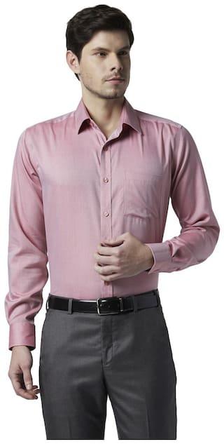 Park Avenue Men Regular fit Formal Shirt - Red