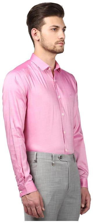 Park Avenue Men Slim fit Formal Shirt - Pink