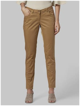 Women Solid Regular Trousers ,Pack Of Pack of 1