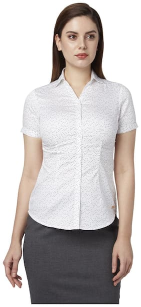 Women Regular Fit Formal Shirt