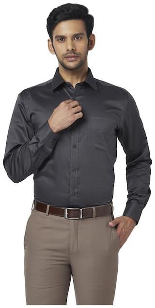 Park Avenue Men Regular fit Formal Shirt - Grey
