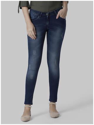 Park Avenue Women Blue Relaxed fit Jeans