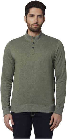Men Textured Sweatshirt ,Pack Of Pack Of 1