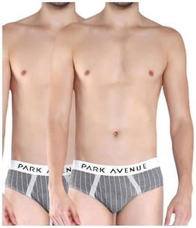Men Cotton Striped Underwear ,Pack Of 2