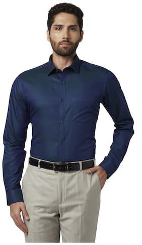 Men Super Slim Fit Solid Formal Shirt