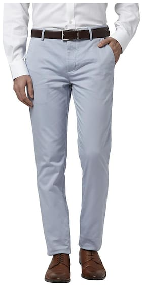 Men Tapered Fit Trousers