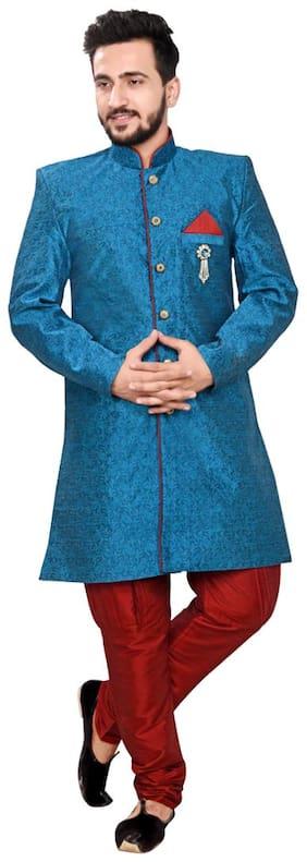 Partywear Sherwani Stylish Sherwani Saadi party sherwani for men