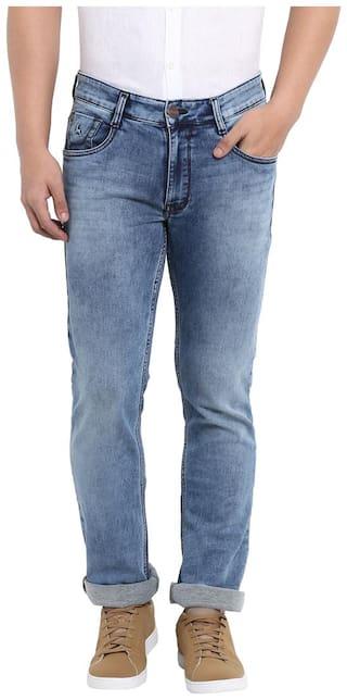 Parx Men Blue Slim Fit Jeans