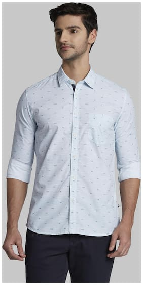 Men Slim Fit Printed Casual Shirt ,Pack Of Pack Of 1
