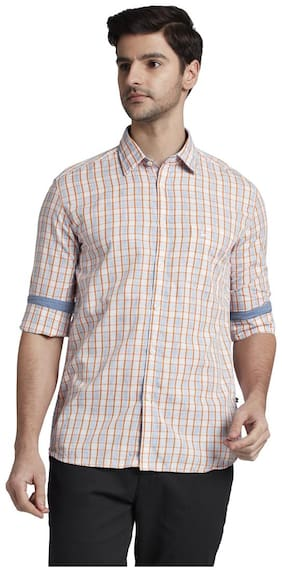 Men Regular Fit Checked Casual Shirt ,Pack Of Pack Of 1