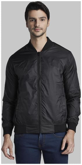 Men Polyester Bomber Jacket