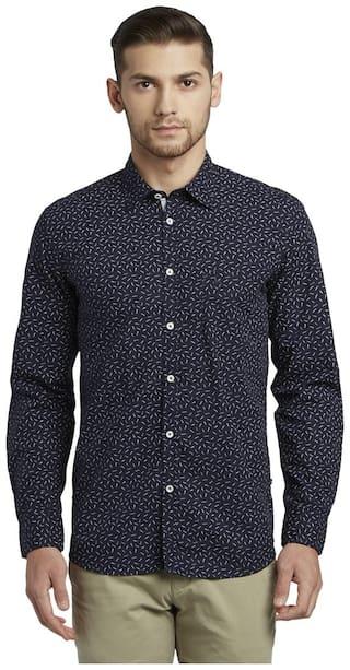 Parx Men Slim Fit Casual shirt - Blue