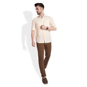 Parx 's Light Fawn Slim Fit Shirt