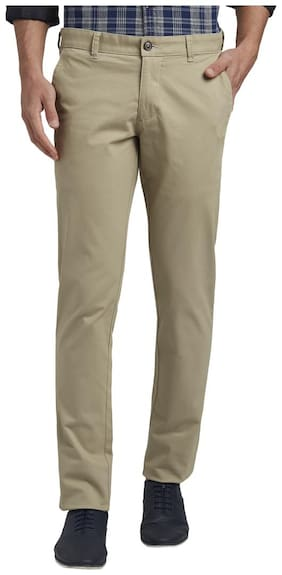 Men Tapered Fit Regular Trousers ,Pack Of Pack Of 1