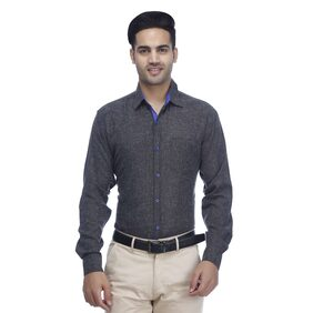 PAUL JACKSON Men Slim Fit Casual shirt - Grey