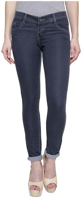 NJ's Women Grey Slim fit Jeans