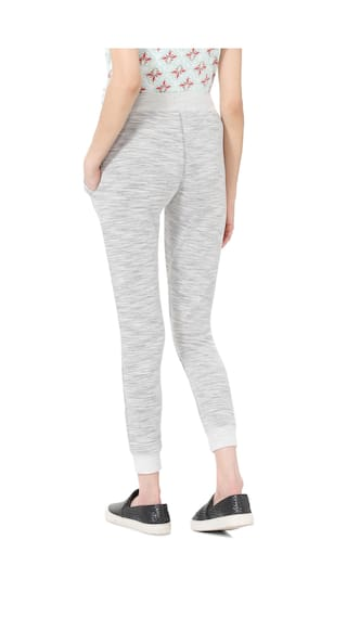 Casual People Trouser Grey Regular Fit Blended wrw7I