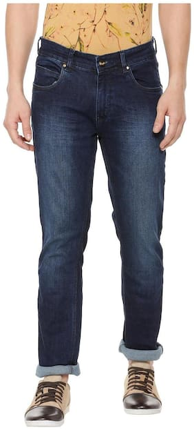 People Men Mid rise Slim fit Jeans - Blue