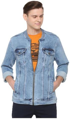 Men Cotton Long Sleeves Bomber Jacket