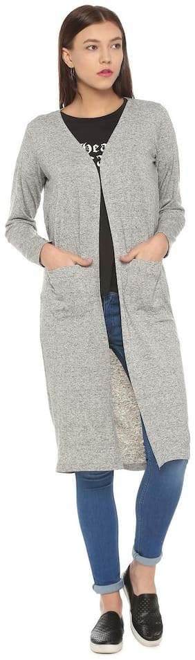 Women Blended Regular FIt Coat