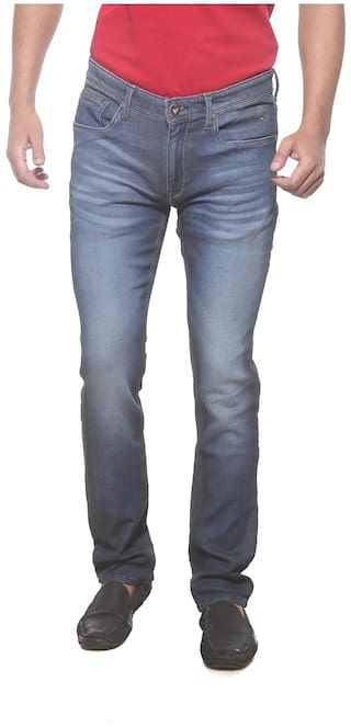 20e3ae42da Buy Pepe Jeans Men Low Rise Slim Fit ( Vapour Fit ) Jeans - Blue ...
