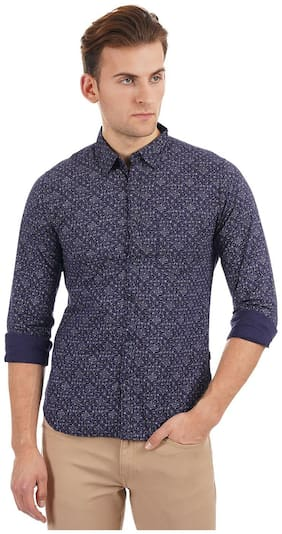 Men Regular Fit Printed Casual Shirt ,Pack Of Pack Of 1