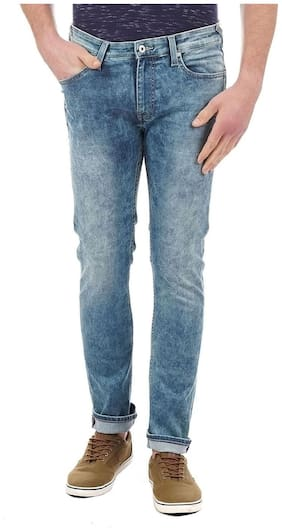Men Slim Fit Low Rise Jeans Pack Of 1