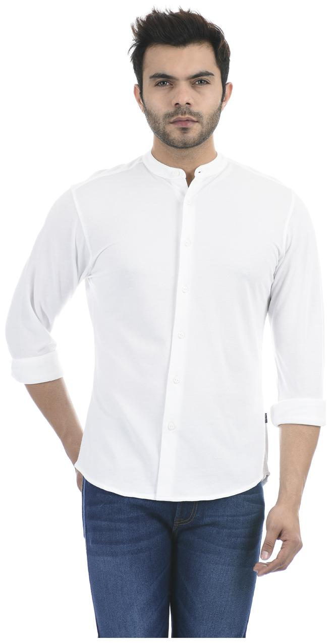Buy Pepe Jeans Men White Solid Regular Fit Casual Shirt Online At Low Prices In India Paytmmall Com