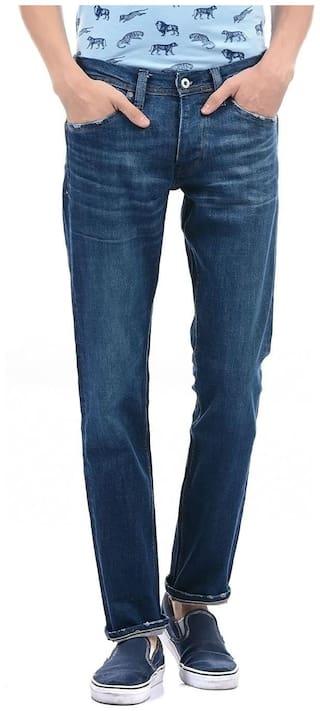 Pepe Jeans Men Blue Slim Fit Jeans