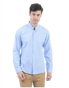 Pepe Jeans Men Solid Casual Shirt