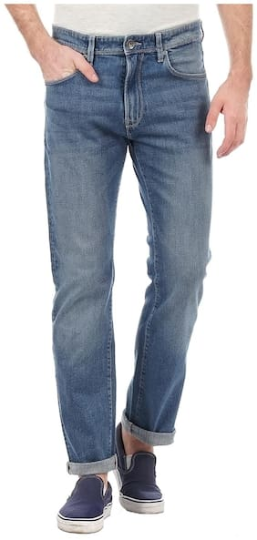 Pepe Jeans Men Low rise Regular fit Jeans - Blue