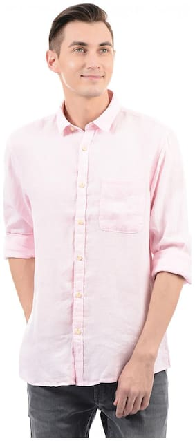Pepe Jeans Men Slim Fit Casual shirt - Pink