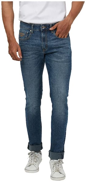 Pepe Jeans Men High rise Slim fit Jeans - Blue