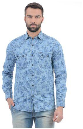 Pepe Jeans Men Printed Shirt