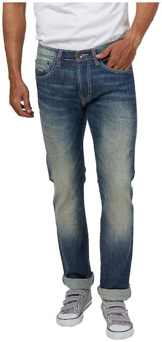 separation shoes 9aae3 2c07b Pepe Jeans Men Low rise Slim fit Jeans - Blue
