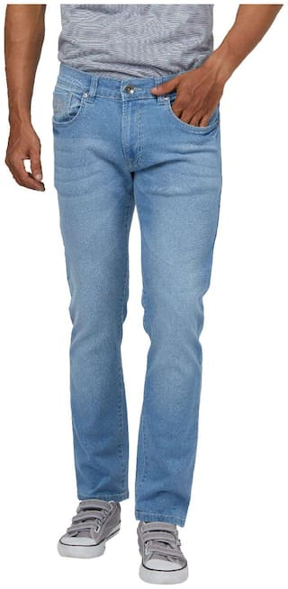 Pepe Jeans Men Blue Slim Fit Jeans