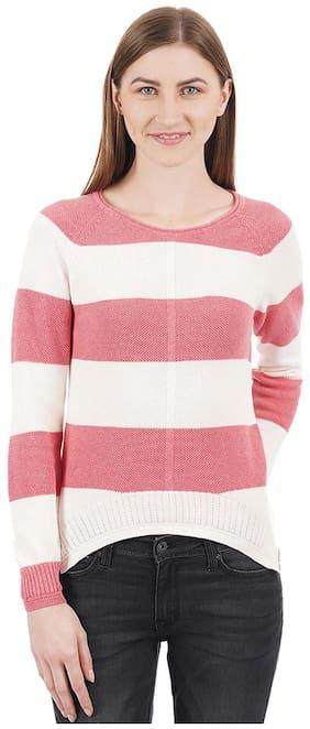 Women Striped Sweater