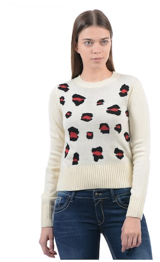 e4fa120097 Buy Pepe Jeans Women Casual Sweater Online at Low Prices in India ...