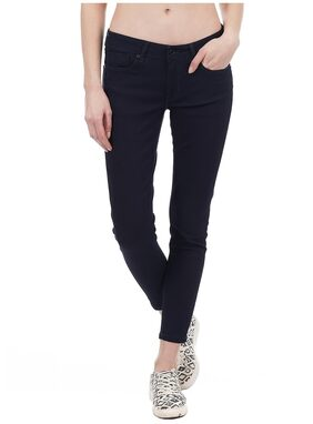 Pepe Jeans Women Regular Fit Mid Rise Solid Jeans - Blue