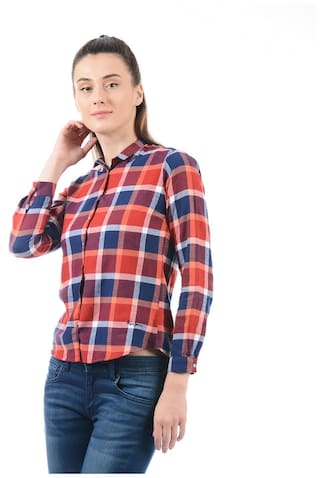 Pepe Shirt Jeans Checkered Jeans Jeans Shirt Checkered Women Pepe Women Pepe Women Checkered rEHIqr
